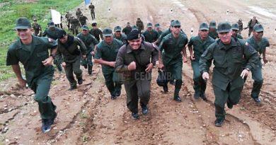 Venezuela obtiene el color azul y el sexto lugar para participar en los Juegos Militares Internacionales Rusia 2018